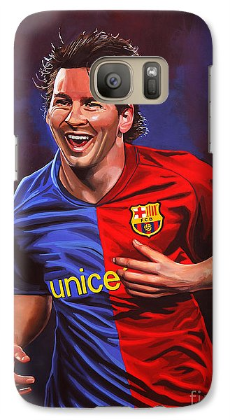 Lionel Messi  Galaxy Case by Paul Meijering