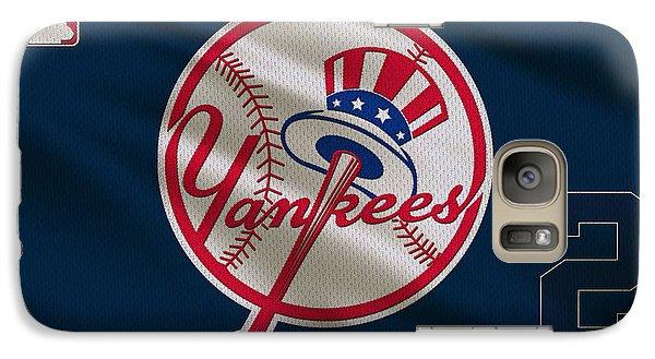 New York Yankees Derek Jeter Galaxy Case by Joe Hamilton