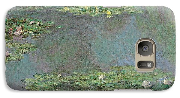 Nympheas Galaxy Case by Claude Monet