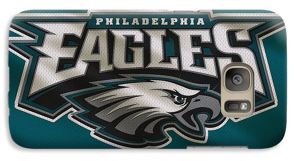 Philadelphia Eagles Uniform Galaxy Case by Joe Hamilton