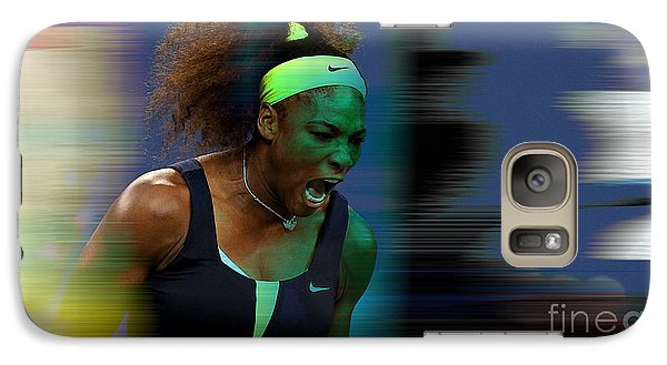Serena Williams Galaxy S7 Case by Marvin Blaine