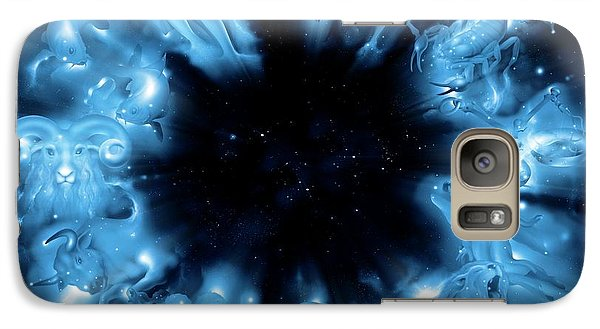 Signs Of The Zodiac Galaxy S7 Case by Detlev Van Ravenswaay