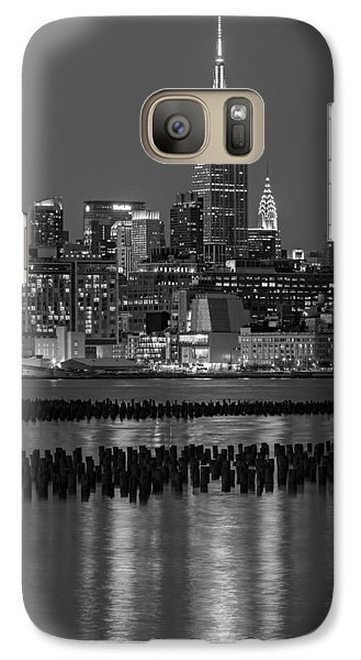 The Empire State Building Pastels II Galaxy Case by Susan Candelario