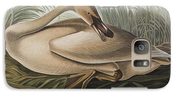 Trumpeter Swan Galaxy S7 Case by John James Audubon