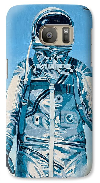 Under The Flight Path Galaxy S7 Case by Scott Listfield