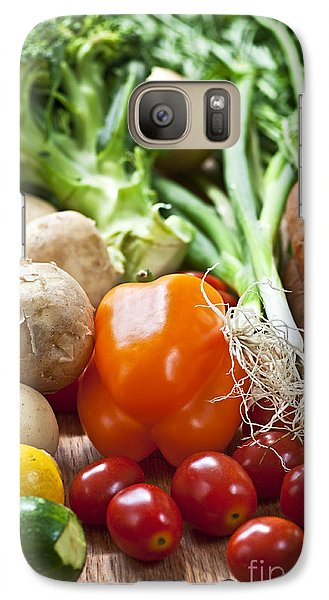 Vegetables Galaxy Case by Elena Elisseeva