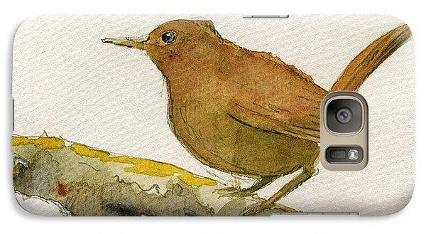 Wren Bird Galaxy S7 Case by Juan  Bosco