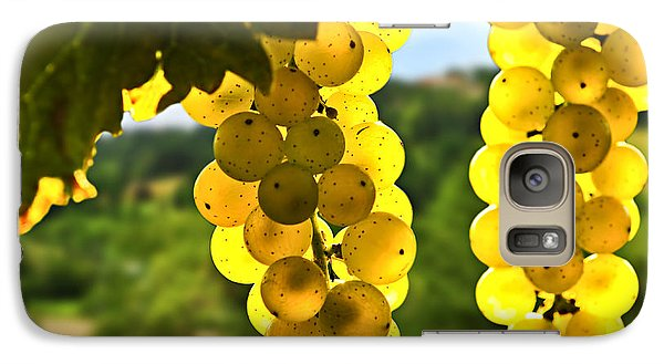 Yellow Grapes Galaxy S7 Case by Elena Elisseeva