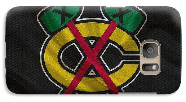 Chicago Blackhawks Galaxy S7 Case by Joe Hamilton