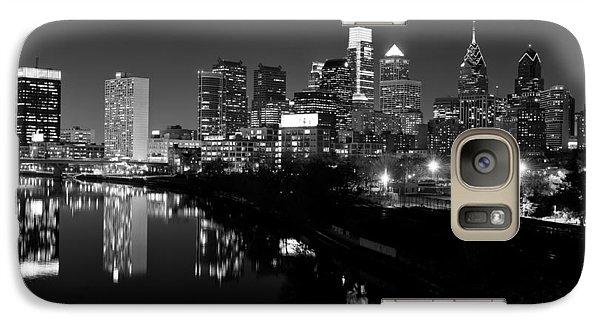 23 Th Street Bridge Philadelphia Galaxy S7 Case by Louis Dallara
