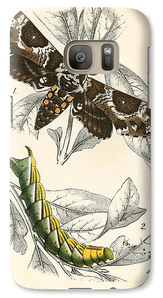 Butterflies Galaxy Case by English School