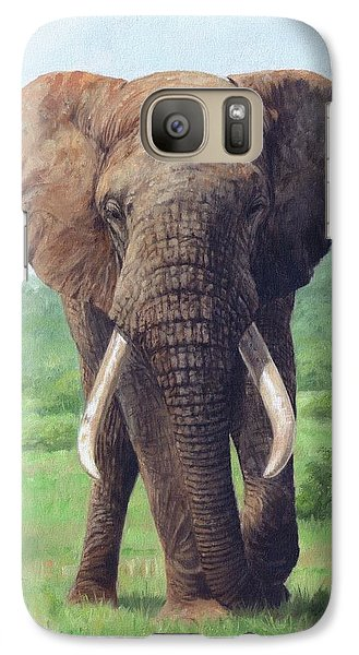 African Elephant Galaxy Case by David Stribbling