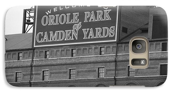 Baltimore Orioles Park At Camden Yards Galaxy Case by Frank Romeo