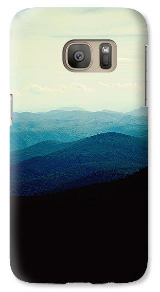 Blue Ridge Mountains Galaxy S7 Case by Kim Fearheiley