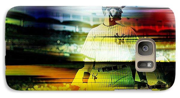 Derek Jeter Galaxy Case by Marvin Blaine