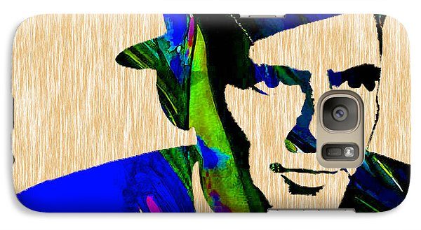 Frank Sinatra Painting Galaxy Case by Marvin Blaine