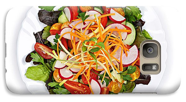 Garden Salad Galaxy S7 Case by Elena Elisseeva