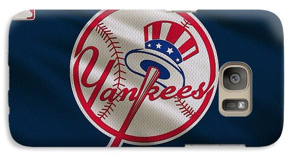 New York Yankees Uniform Galaxy Case by Joe Hamilton