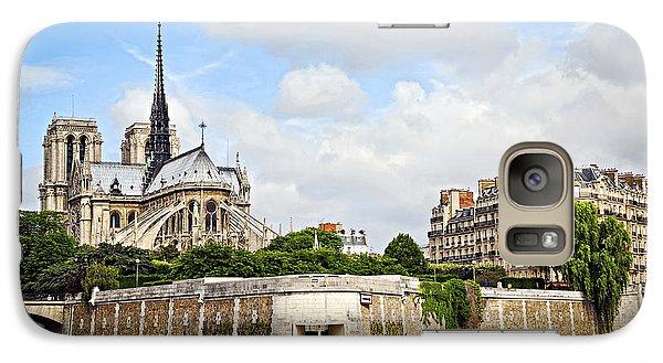 Notre Dame De Paris Galaxy Case by Elena Elisseeva