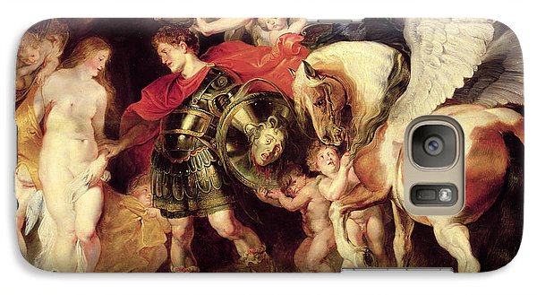 Perseus Liberating Andromeda Galaxy S7 Case by Peter Paul Rubens