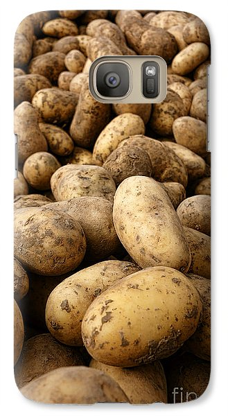 Potatoes Galaxy S7 Case by Olivier Le Queinec