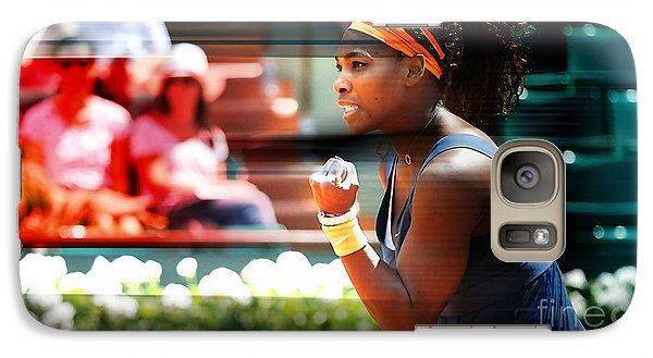 Serena Williams Galaxy Case by Marvin Blaine