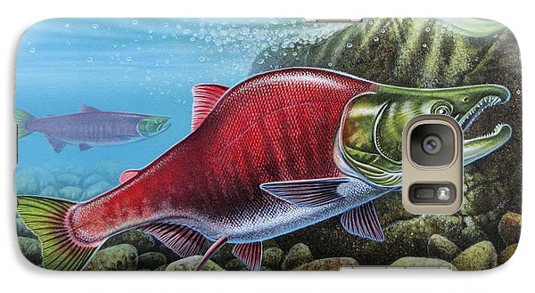 Sockeye Salmon Galaxy Case by JQ Licensing