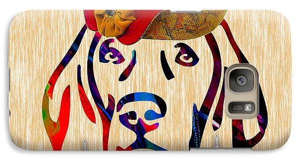 Weimaraner Collection Galaxy Case by Marvin Blaine