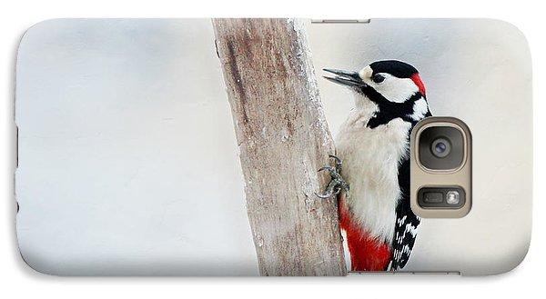 Woodpecker Galaxy Case by Heike Hultsch