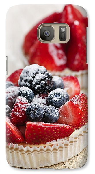 Fruit Tarts Galaxy Case by Elena Elisseeva