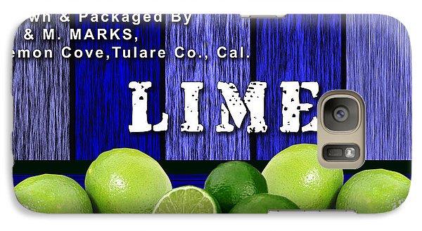Lime Farm Galaxy Case by Marvin Blaine