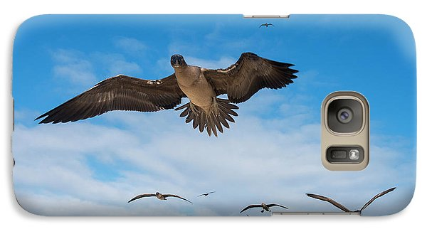Red-footed Booby (sula Sula Websteri Galaxy Case by Pete Oxford