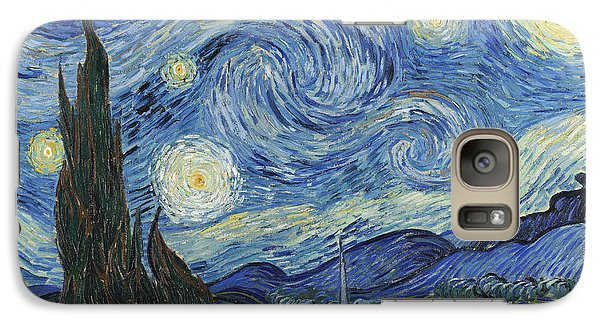 The Starry Night Galaxy S7 Case by Vincent Van Gogh