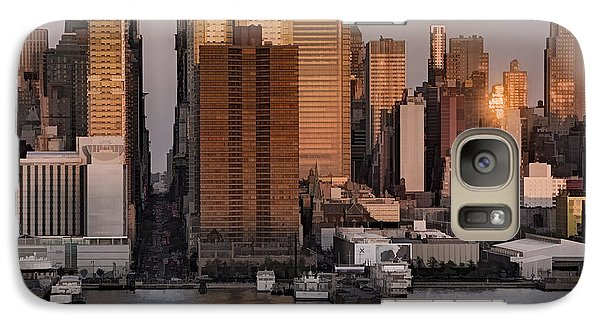 42nd Street Times Square Galaxy Case by Susan Candelario