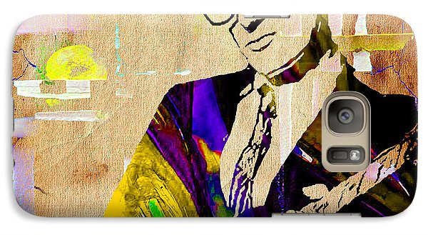 Buddy Holly Collection Galaxy Case by Marvin Blaine