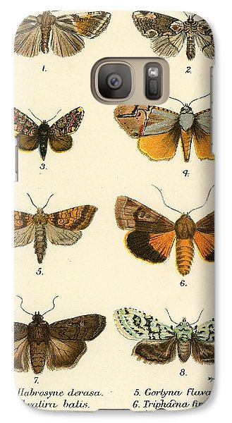 Butterflies Galaxy S7 Case by English School