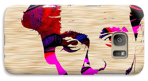 Johnny Depp Galaxy Case by Marvin Blaine