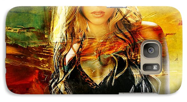Shakira Galaxy S7 Case by Marvin Blaine