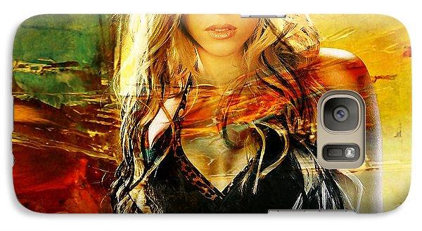 Shakira Galaxy Case by Marvin Blaine