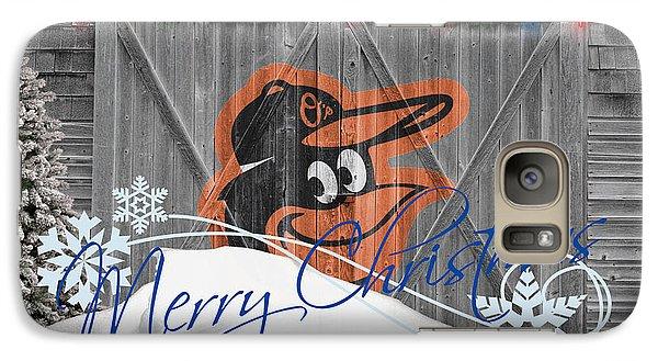 Baltimore Orioles Galaxy Case by Joe Hamilton