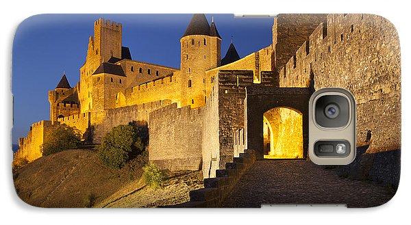 Medieval Carcassonne Galaxy Case by Brian Jannsen