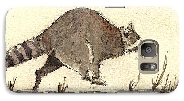 Raccoon  Galaxy S7 Case by Juan  Bosco