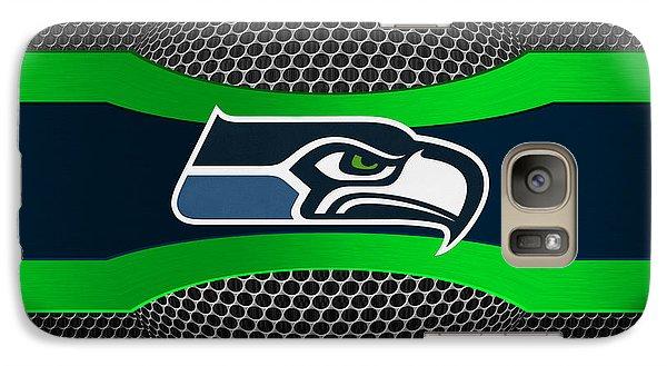 Seattle Seahawks Galaxy S7 Case by Joe Hamilton