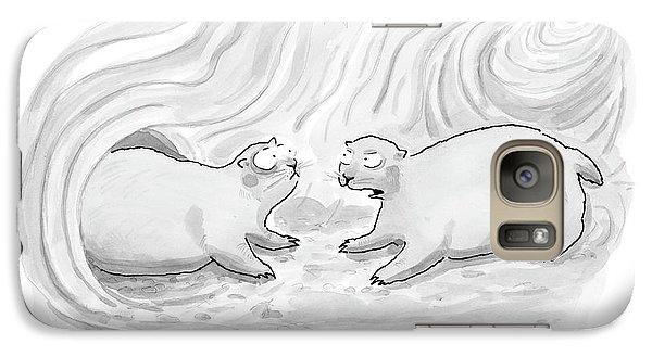Untitled Galaxy S7 Case by Leo Cullum