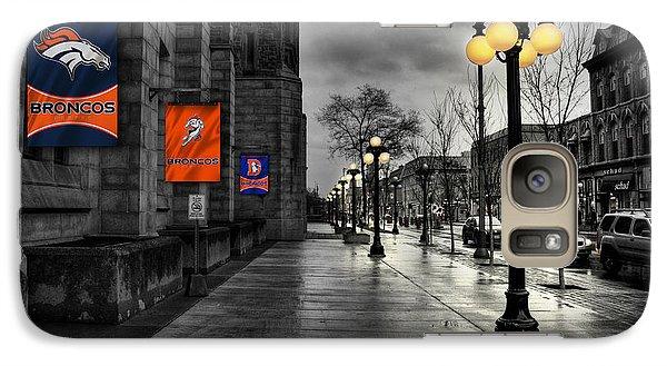 Denver Broncos Galaxy S7 Case by Joe Hamilton