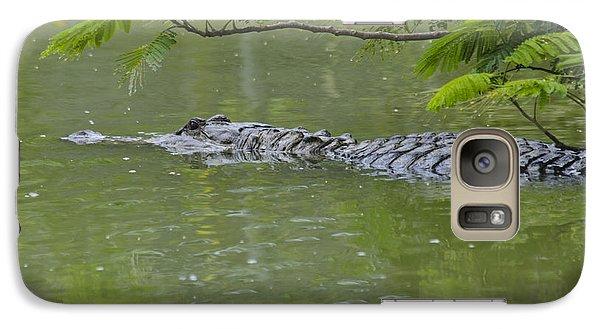 American Alligator Galaxy S7 Case by Mark Newman