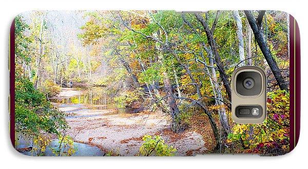 Galaxy Case featuring the photograph Pennsylvania Stream In Autumn by A Gurmankin