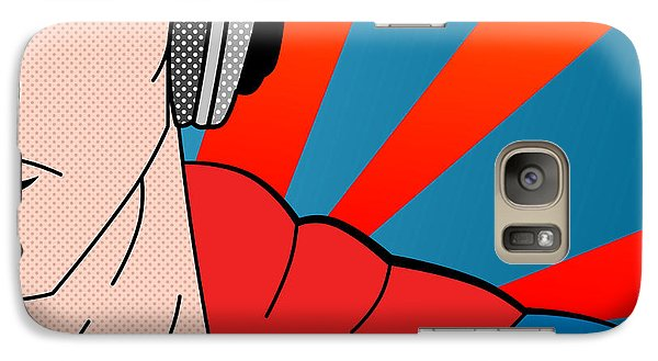 Superman  Galaxy Case by Mark Ashkenazi