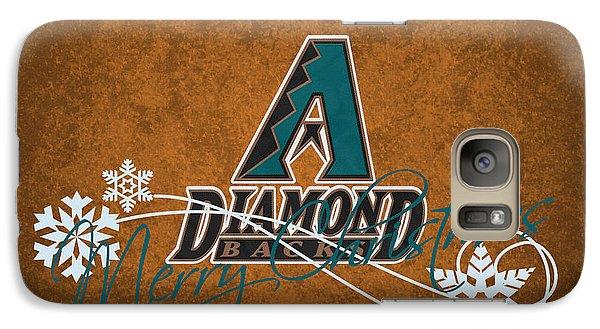 Arizona Diamondbacks Galaxy Case by Joe Hamilton
