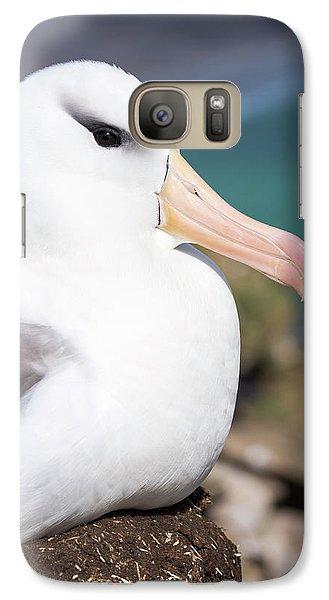 Black-browed Albatross (thalassarche Galaxy Case by Martin Zwick